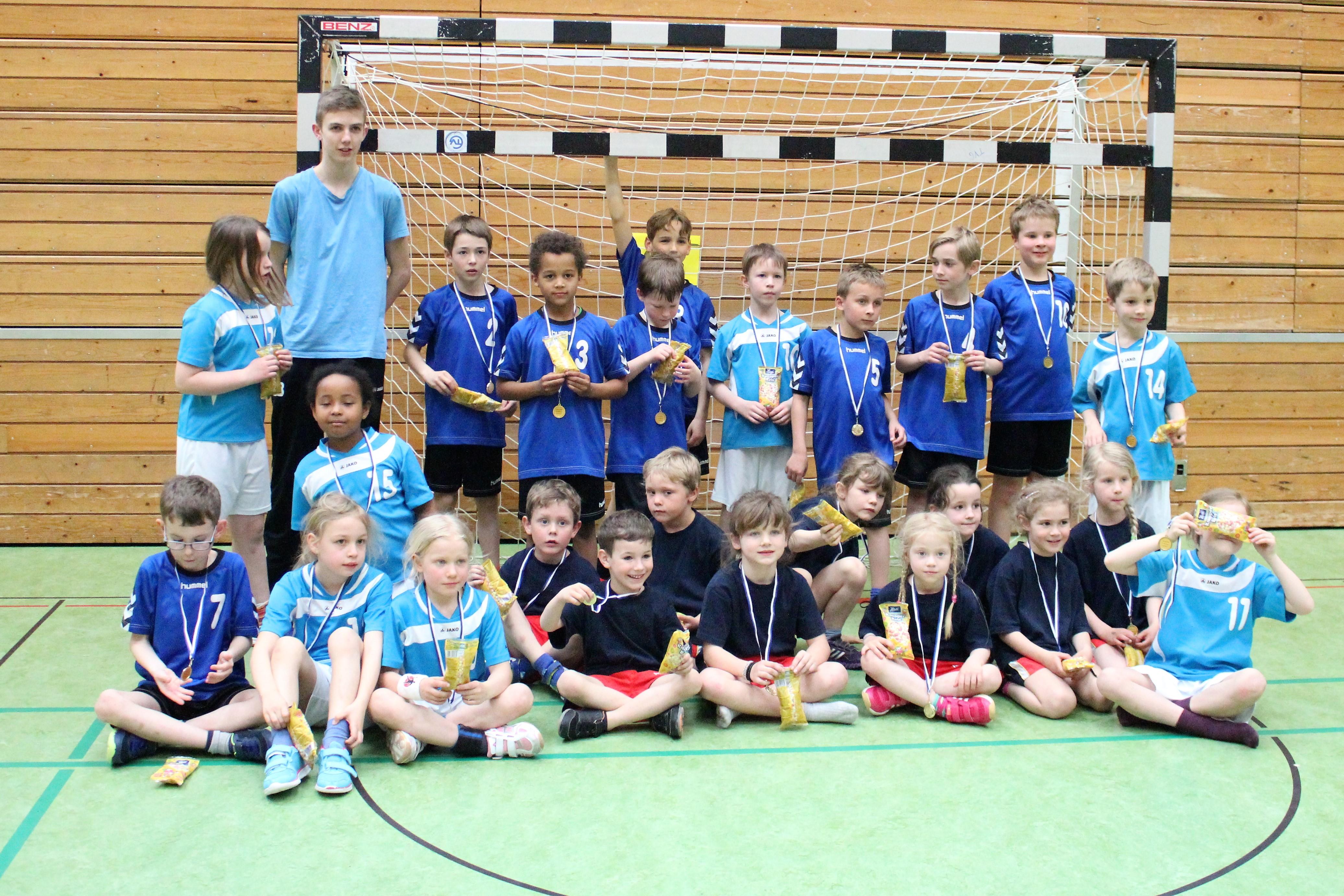 Handball – Minispielefest in Gundelfingen