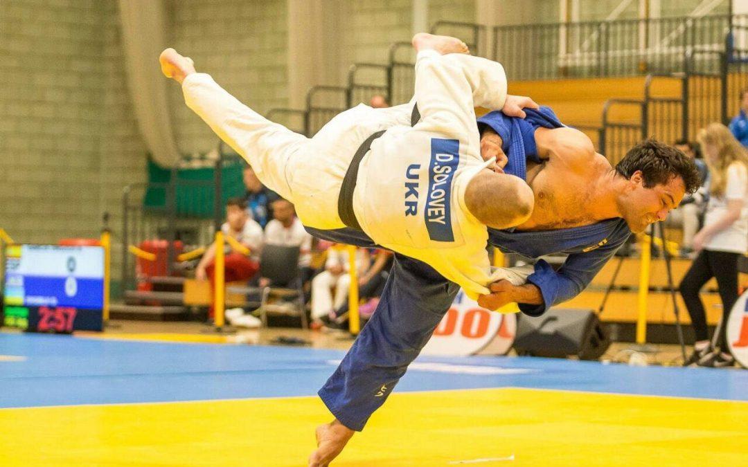 Nikolai Kornhaß mit Silber bei Judo-Europameisterschaften