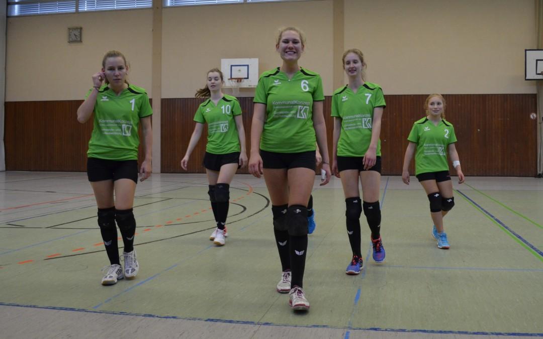 """Volleyballerinnen der Damen II punkten mit """"geilen Teilen"""" – doch leider reicht es nicht zum Sieg"""