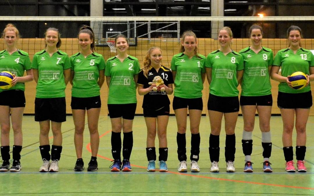 Volleyball-Damen II überwintern im Tabellenmittelfeld