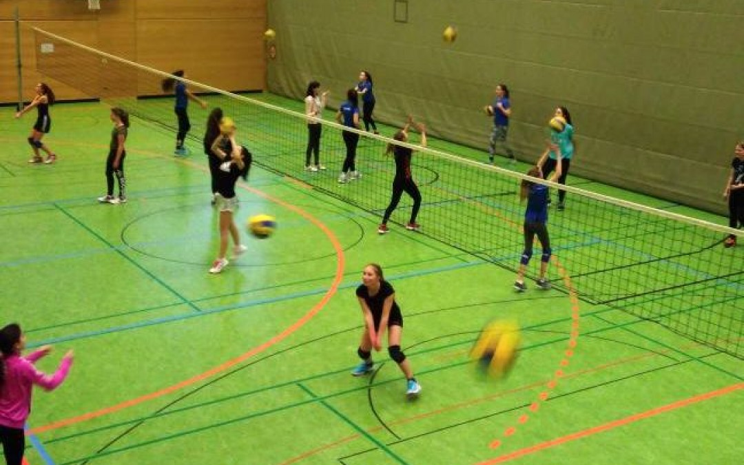 Erstes Volleyball-Jugendturnier in Gundelfingen