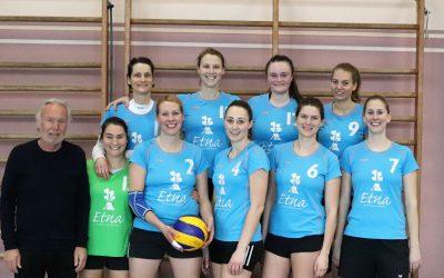 Volleyballdamen spielen Relegation Verbandsliga