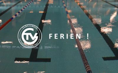 Sommerferien – Und wie geht es nach den Ferien weiter in der TVG-Schwimmabteilung?