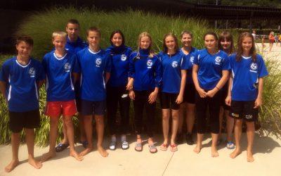 Saisonfinale im Schwimmen
