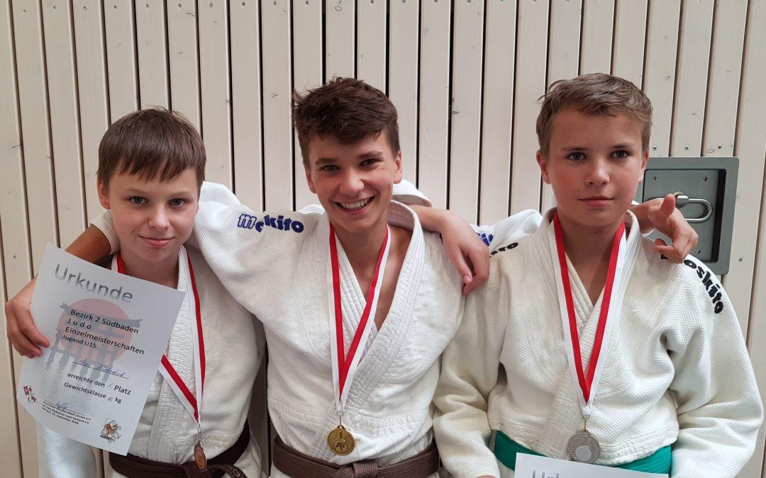 ‼🥋🏅🥈🥉 Gold, Silber und Bronze bei den Bezirksmeisterschaften U15