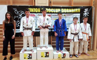 Erfolgreicher Auftritt der TVG Judoka beim Internationalen Turnier in Österreich
