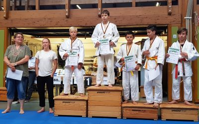 🥋‼ Gold 🏅 und Silber 🥈bei den Judo Kreis-Einzelmeisterschaften der U15 in Stegen ‼