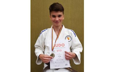 🏅🥋‼ Max wird erneut Badischer Meister U15 ‼🥋🏅