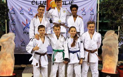 ‼🏅🥉🥉🥋 Überragende Teamleistung beim Internationalen Turnier in Frankreich