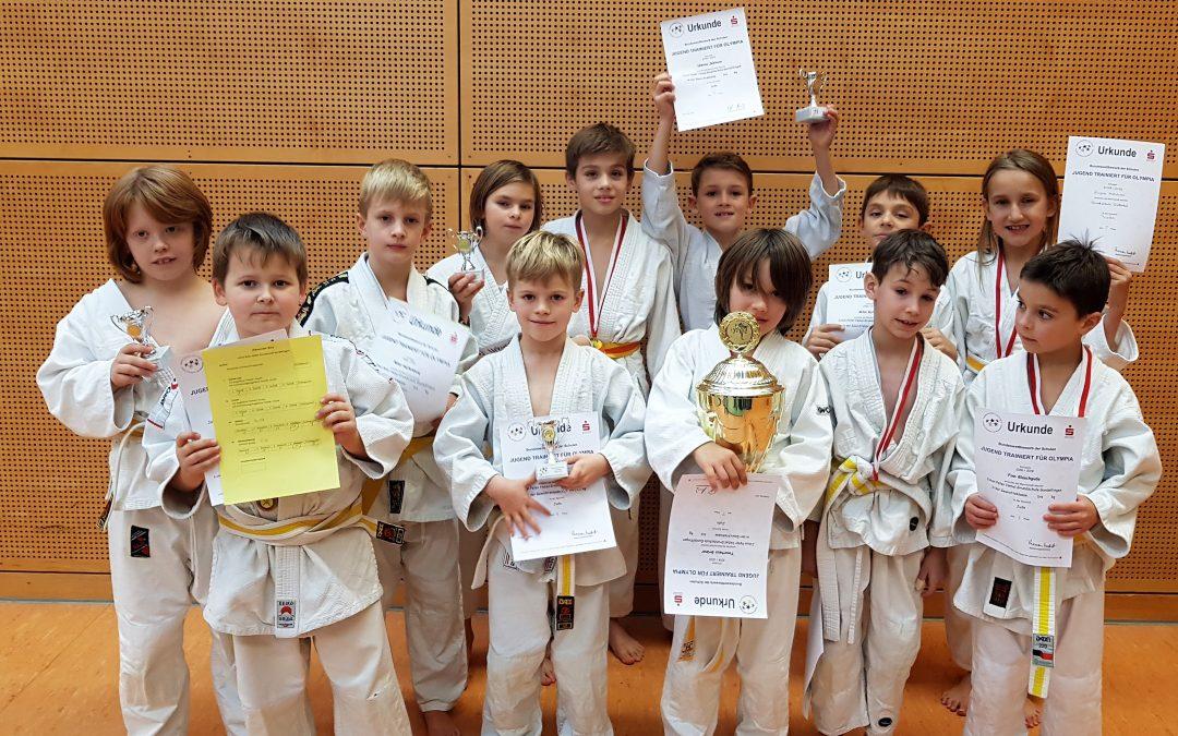 ‼🥋🏆 An den TVG Judoka der Johann-Peter-Hebel-Grundschule geht kein Weg vorbei ‼🥋🏆