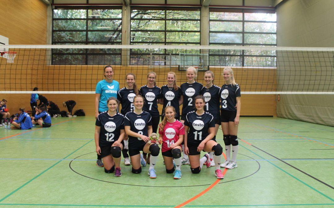Volleyball-Damen II beenden ersten Heimspieltag mit einem Sieg und einer Niederlage