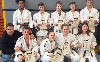 Max, Luca und Lukas werden Badische Meister U18
