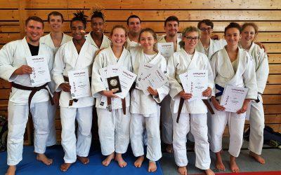 7mal Gold, 3mal Silber und 2mal Bronze für TVG05 Judoka bei den Kreismeisterschaften in Denzlingen