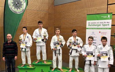 TVG Judoka Max Düsterdiek gewinnt Internationales Turnier in Duisburg