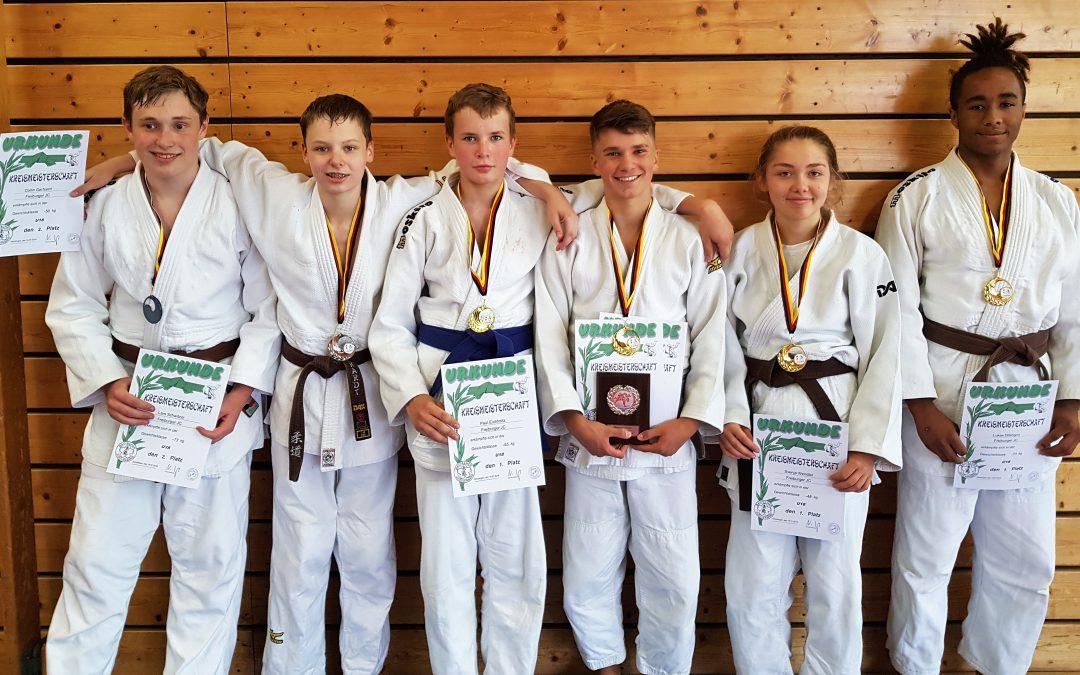 Gleich 6mal im Judo Kreis-Finale u18!
