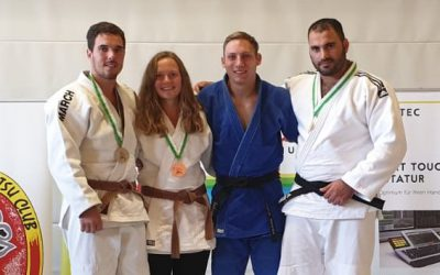 TVG Judoka auch international stark