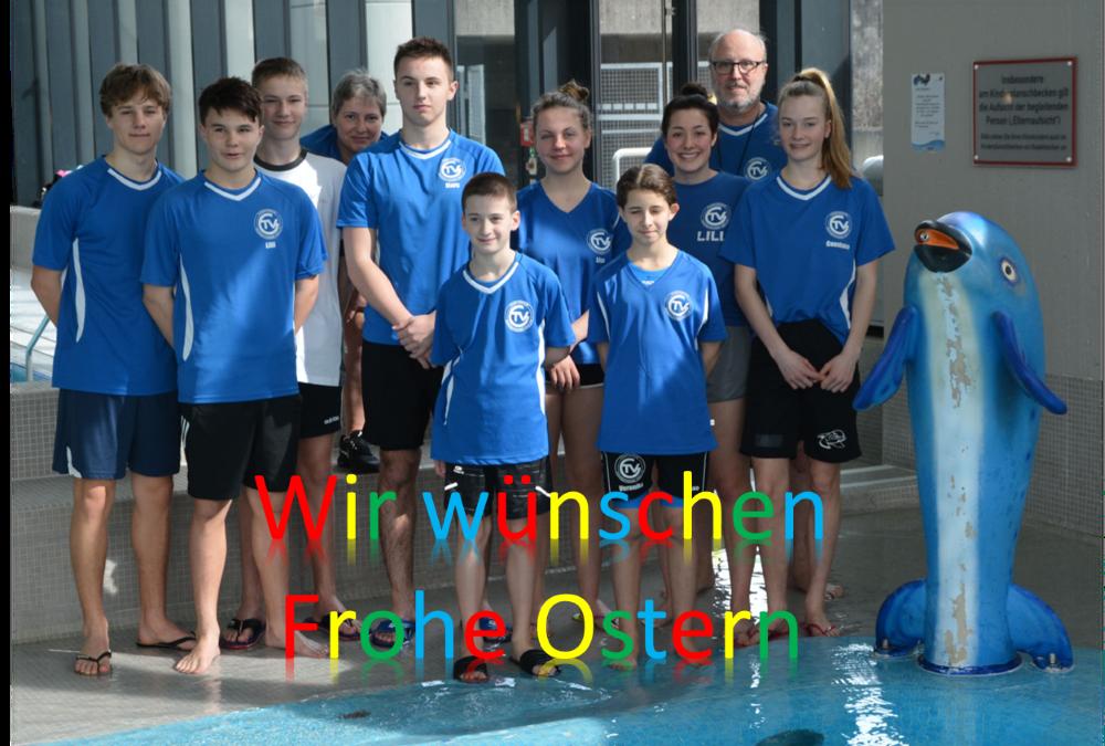 Ostergruß der TVG-Schwimmabteilung