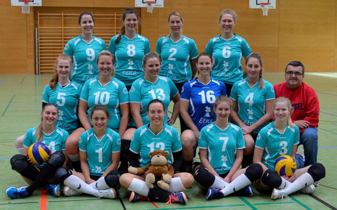 Volleyball – Saisonauftakt Verbandsliga
